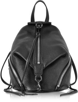 Rebecca Minkoff Black Leather Convertible Mini Julian Backpack - ONE COLOR - STYLE