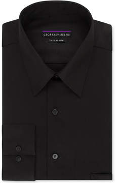 Geoffrey Beene Big and Tall Classic-Fit Wrinkle-Free Sateen Solid Dress Shirt