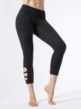 Beyond Yoga Full Circle Cut Out Capri Legging