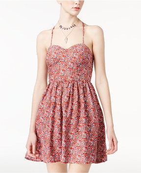 American Rag Juniors' Racerback Fit & Flare Dress, Created for Macy's