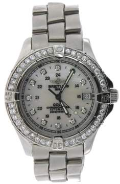 Breitling Colt Stainless Steel & 1.25ct Diamond 37mm Watch