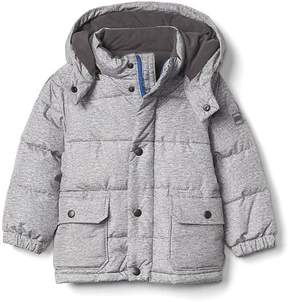 Gap Fleece-lined puffer hoodie