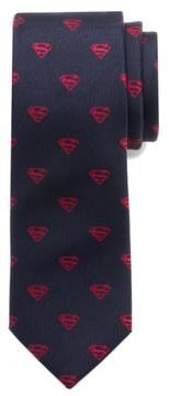 Cufflinks Inc. Boy's Cufflinks, Inc. 'Classic Superman Shield' Silk Tie