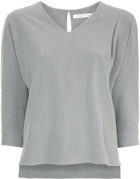 ESTNATION classic shift blouse