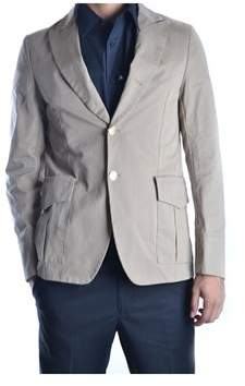 Mauro Grifoni Men's Grey Cotton Blazer.