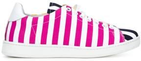 Joshua Sanders striped panel sneakers