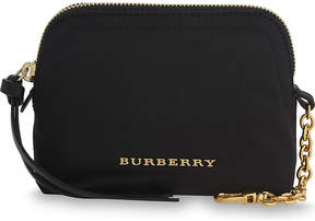 Burberry Small nylon pouch - BLACK - STYLE