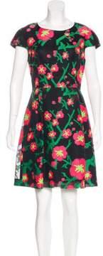 Andrew Gn Jacquard Mini Dress
