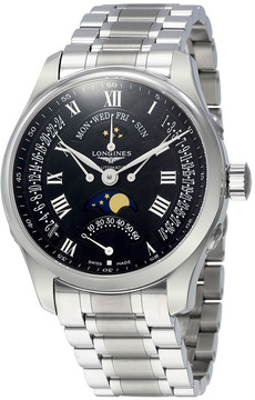 Longines Master Retrograde Seconds Black Dial Automatic Men's Watch L27394516