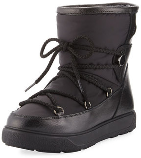 Moncler New Fanny Lace-Up Snow Boot