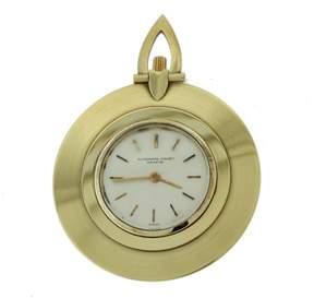 Audemars Piguet 18K Yellow Gold Ultra-Thin Open Face 42mm Unisex Vintage Pocket Watch