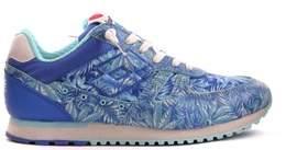 Lotto Leggenda Women's Blue Leather Sneakers.