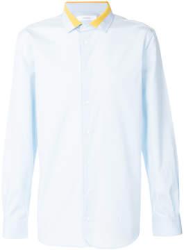 Joseph contrast collar shirt