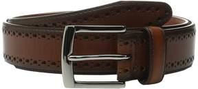 Johnston & Murphy Perfed Edge Men's Belts