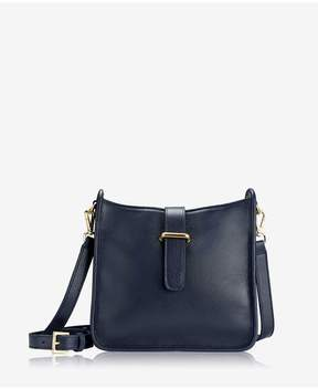 GiGi New York | Elle Crossbody In Ink Napa Luxe | Ink napa luxe