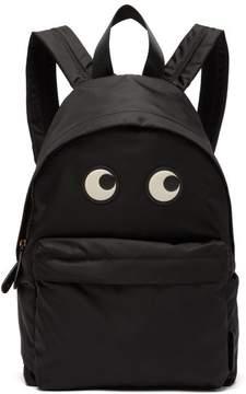 Anya Hindmarch Eyes Backpack - Womens - Black