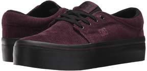 DC Trase Platform TX SE Women's Lace up casual Shoes