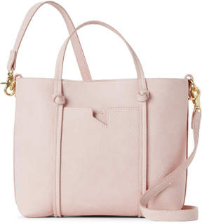 Foley + Corinna Pink Faux Leather Satchel