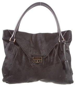 Jil Sander Ponyhair Handle Bag