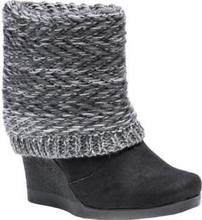 Muk Luks Sienna Boot Wedge Bootie (Women's)