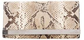 Michael Kors Python Tilda Clutch - ANIMAL PRINT - STYLE