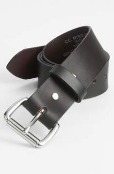 Filson Men's Leather Belt