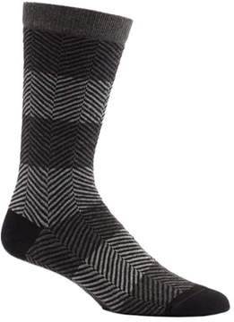 Ozone Men's Herringbone Mirror Crew Socks (2 Pairs)