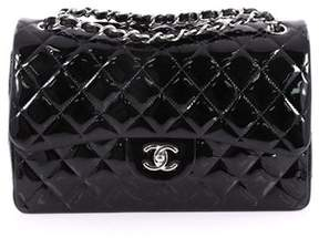 Chanel Pre-owned: Classic Double Flap Bag Quilted Patent Jumbo