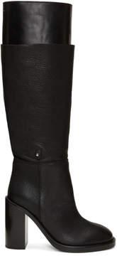 Maison Margiela Black Layered Boots