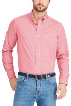 Chaps Big & Tall Classic-Fit Plaid Stretch Poplin Button-Down Shirt