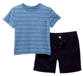 AG Jeans Stripe Top & Shorts Set (Baby Boys)
