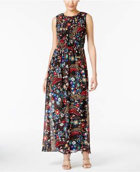 ECI Printed Maxi Dress