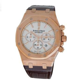 Audemars Piguet Royal Oak Chronograph 18K Rose Gold & Leather Automatic 41mm Men