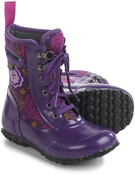 Bogs Footwear Sidney Posey Insulated Rain Boots - Waterproof, Lace-Ups (For Little Girls)