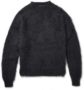 Haider Ackermann Mohair And Silk-Blend Sweater