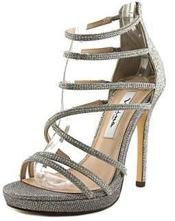 Nina Womens Finessa Open Toe Casual Strappy Sandals.