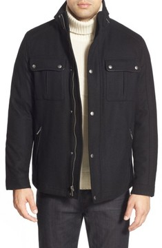 Cole Haan Men's Melton Coat