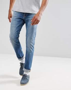 Nudie Jeans Tilted Tor Skinny Fit Jean Crispy Air Wash