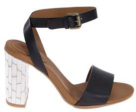 See by Chloe Women's Black Leather Sandals.