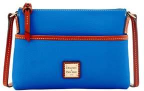 Dooney & Bourke Pebble Grain Ginger Pouchette Shoulder Bag - FRENCH BLUE - STYLE