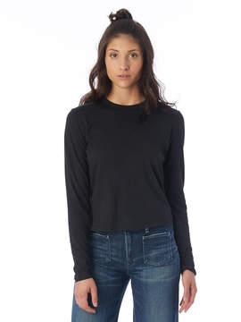 Alternative Apparel High Waisted Cotton Modal Crew T-Shirt