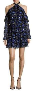 Alexia Admor Cold Shoulder Halter Dress