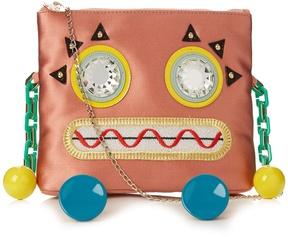 CHARLOTTE OLYMPIA Rusty Rosie satin cross-body bag