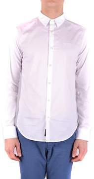 Armani Jeans Men's White Cotton Shirt.