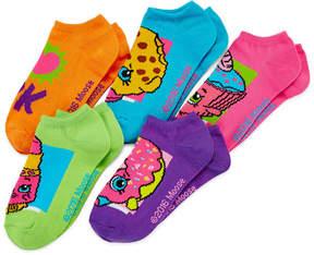 Asstd National Brand Shopkins 5-pk. I Heart Socks - Girls