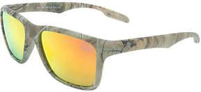 Revo Red Real Lens & Realtree Camo Frame Square Sunglasses