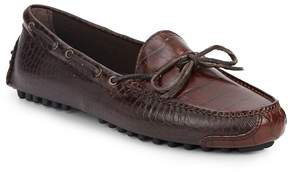 Cole Haan Men's Gunnison Croc-Embossed Leather Moccasins