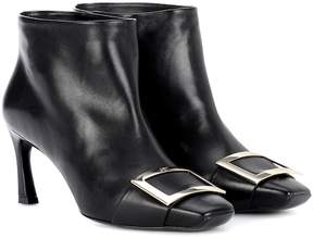 Roger Vivier Trompette Extra Low leather ankle boots