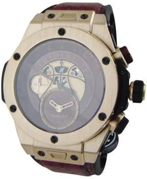 Hublot Big Bang Vino 18K Gold / Python Leather 45.5mm Mens Watch