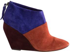 Jean-Michel Cazabat Suede Ankle boots